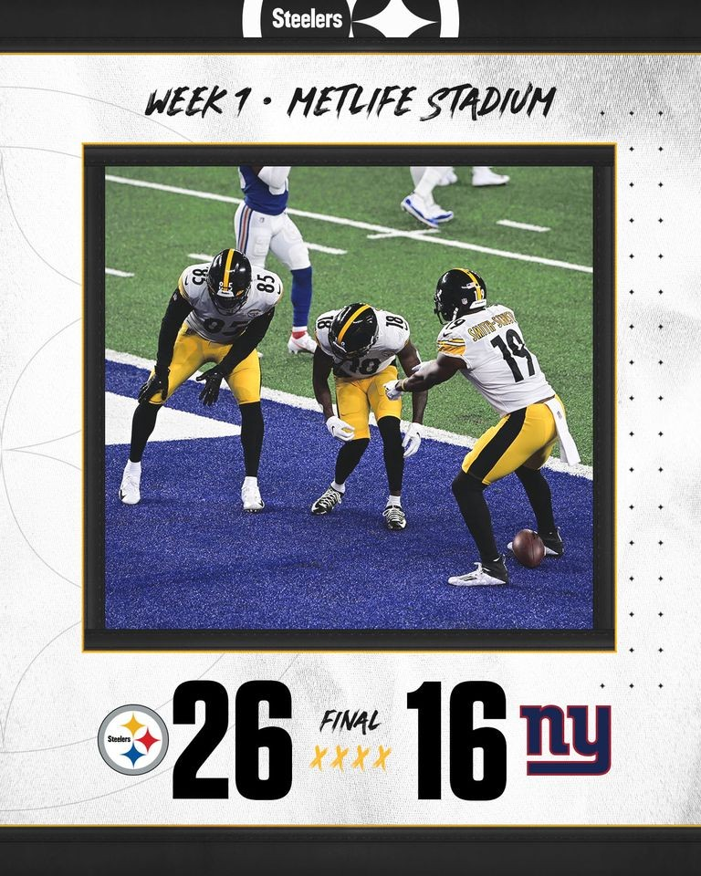 Week 1 @ New York Giants