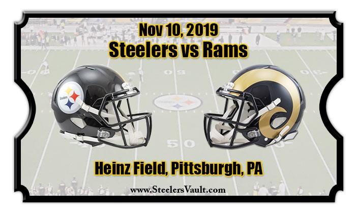 Steelers Rams a PO reményekért